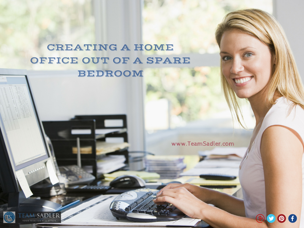 Turning Spare Bedroom into Home Office